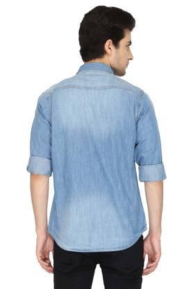 Mens Slim Collar Assorted Shirt
