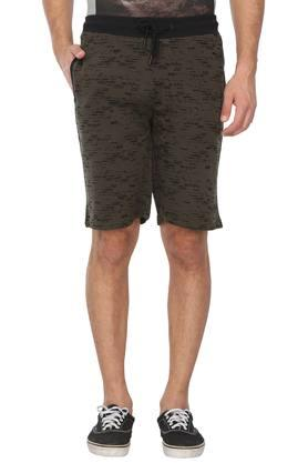 Mens 3 Pocket Printed Shorts