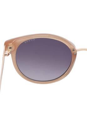 Womens Full Rim Wayfarer Sunglasses - GUS76085401BSG
