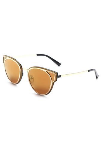 Womens Full Rim Cat Eye Sunglasses - 017 C3 S