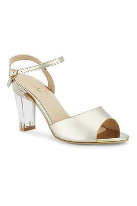 CERIZWomens Casual Wear Buckle Closure Heeled Sandals - 204864167_9106