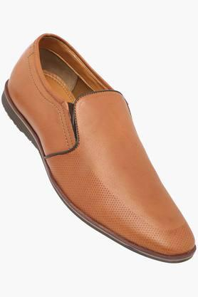 VETTORIO FRATINIMens Leather Slipon Loafers - 202801977