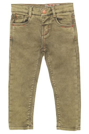 Boys Slim Fit Rinse Wash Jeans