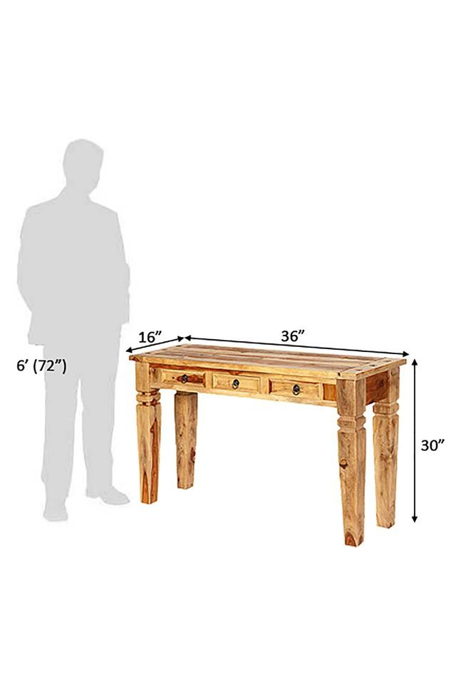 Brown Helen Console Table