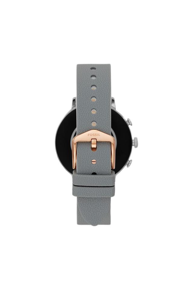 Unisex Gen 4 Venture HR Leather Touchscreen Smart Watch - FTW6016