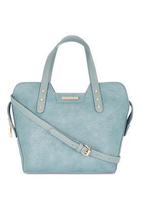 CERIZWomens Zipper Closure Satchel Handbag - 204893581_9308