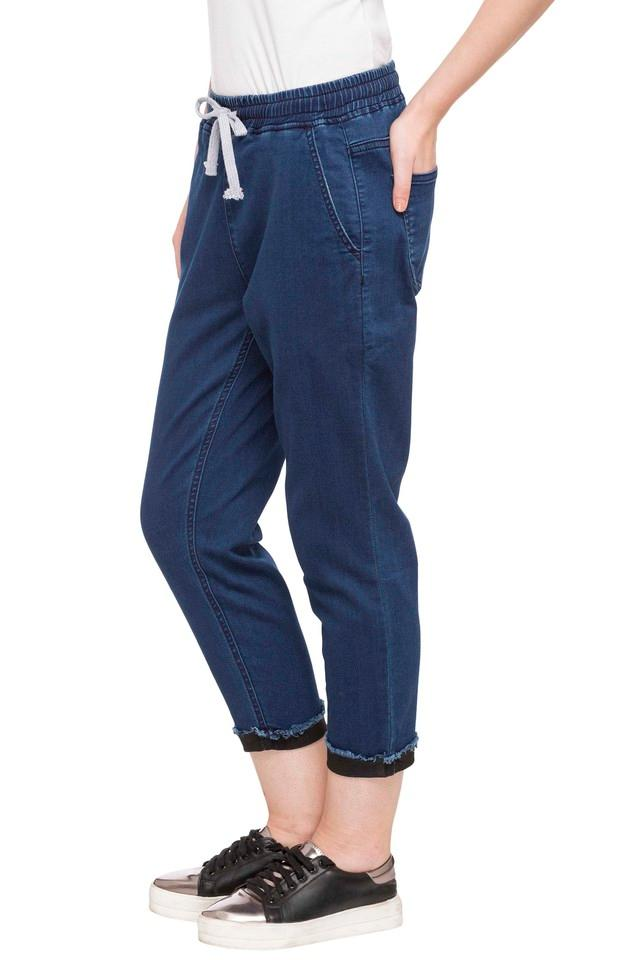 Womens 4 Pocket Coated Joggers