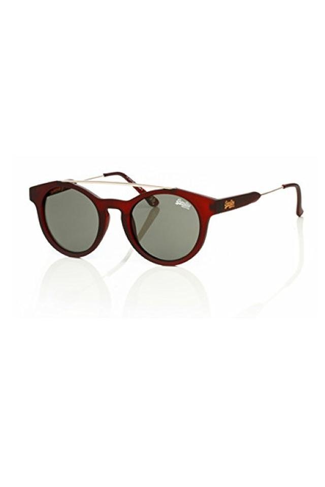 Womens Browline Polycarbonate Sunglasses