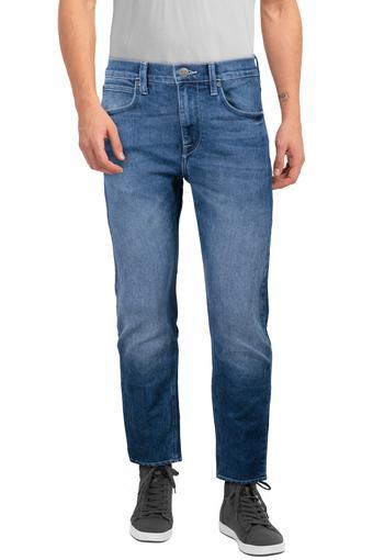 Mens 5 Pocket Mild Wash Jeans (Anton Fit)