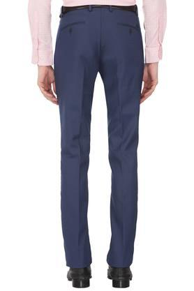 Mens 4 Pocket Striped Formal Trousers