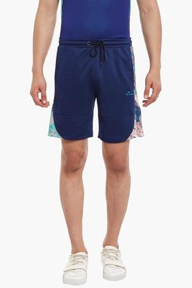 ALCIS Mens Slim Fit Solid Shorts - 203098722