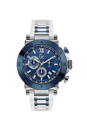 GUESSMens Sport Chic Collection Mens Stainless Steel Chronograph Watch - X90023G7S