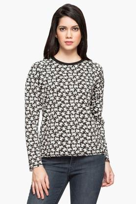 LEVIS Womens Round Neck Printed Sweatshirt