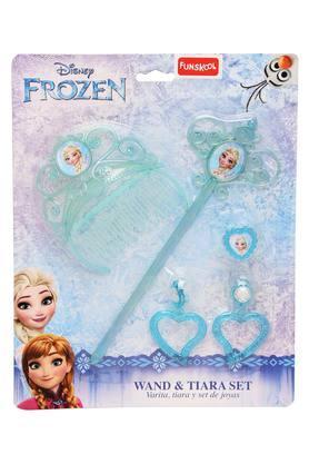Girls Frozen Wand and Tiara Set