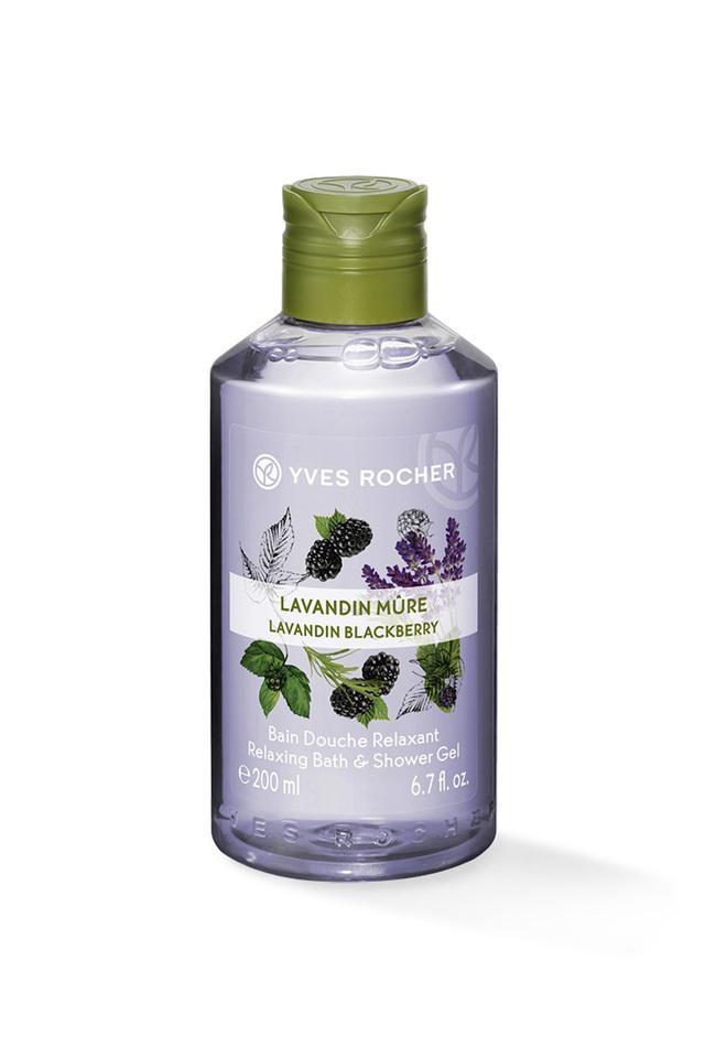 Relaxing Bath And Shower Gel - Lavandin Blackberry - 200 ml