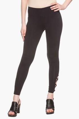3a497225822 X LIFE Womens Solid Jeggings