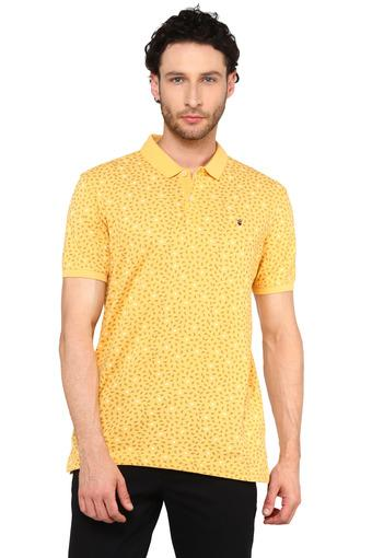 LOUIS PHILIPPE JEANS -  Yellow T-shirts - Main