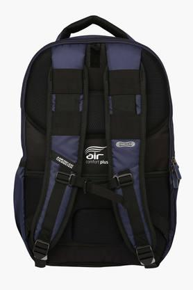 Unisex 2 Compartments Zipper Closure Backpack