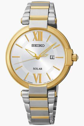 SEIKOWomens Dress Analog White Dial Watch - SUT154P1