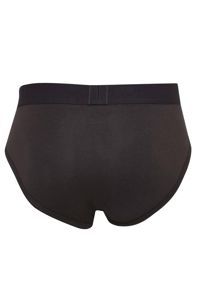 Mens Solid Briefs Pack of 2