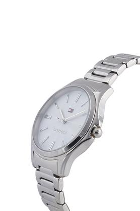 Womens Silver Dial Metallic Analogue Watch - TH1781949