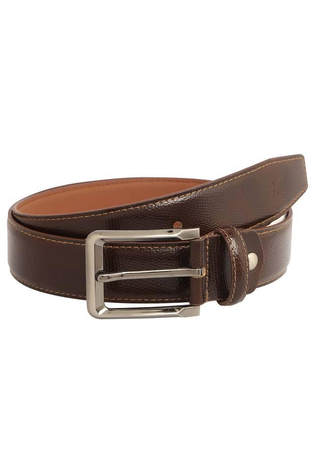 Mens Buckle Closure Belt
