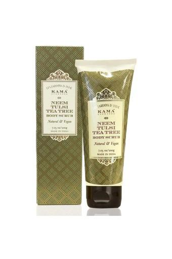 Neem Tulsi Tea Tree Body Scrub - 200 gm