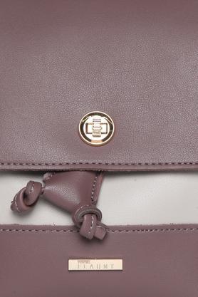 Womens 1 Compartment Metallic Lock Closure Backpack
