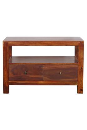 Brown Amber TV Cabinet Unit