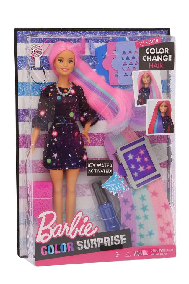 Girls Color Surprise Barbie Doll