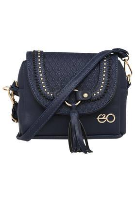 E2O Womens Snap Closure Sling Bag