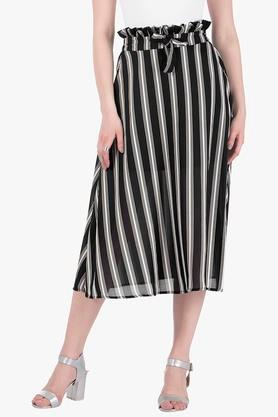 FABALLEY Womens Stripe Skirt - 203277507