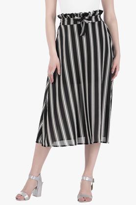 FABALLEYWomens Stripe Skirt