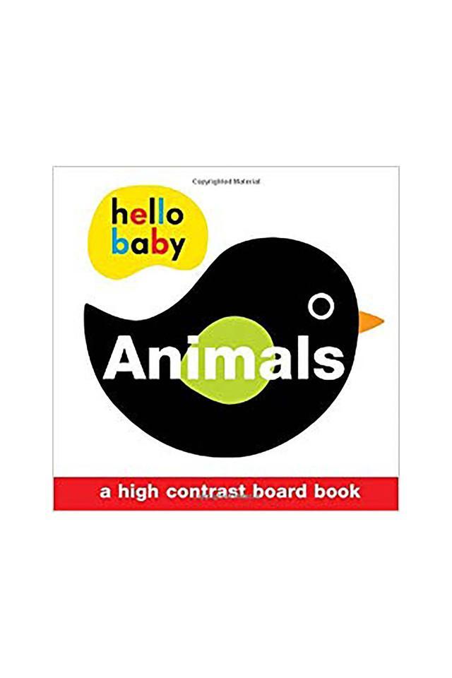 Hello Baby: Animals: A High-Contrast Board Book