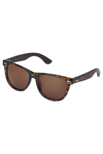 Unisex Full Rim Polarized Lens Wayfarer Sunglasses -LI068J5117A