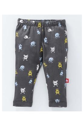 Boys Regular Fit Printed and Stripe Leggings Pack of 2