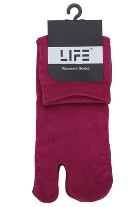 Womens Solid Ankle Socks
