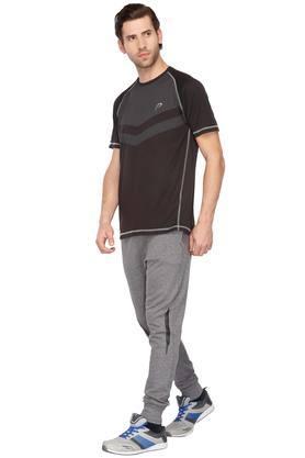 Mens 2 Pocket Slub Track Pants