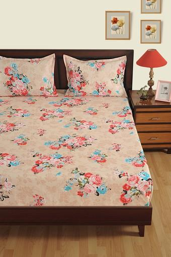 SWAYAM -  Off White Bed Sheets - Main