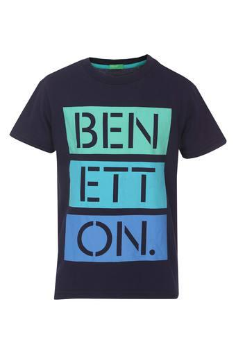 UNITED COLORS OF BENETTON -  NavyTopwear - Main