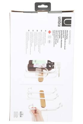 Wine Display Rack with Adjustable Holders