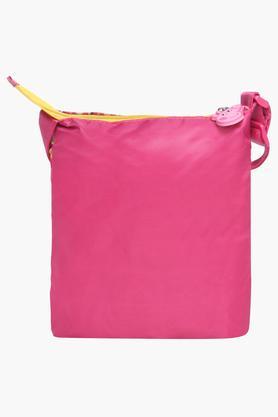 Girls Zipper Closure Pippa Pig Sling Bag