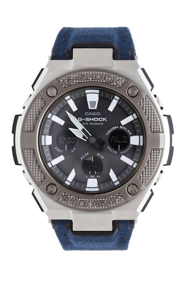 Mens Leather Chronograph Watch - G887