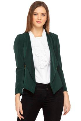 45522ff5912 X FEMINA FLAUNT Womens Solid Casual Jacket