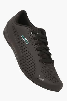 PUMA Mens Leather Lace Up Sports Shoes