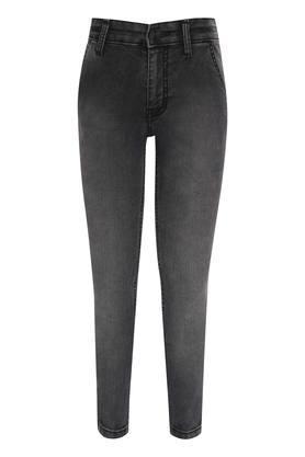 Boys 4 Pocket Mild Wash Jeans