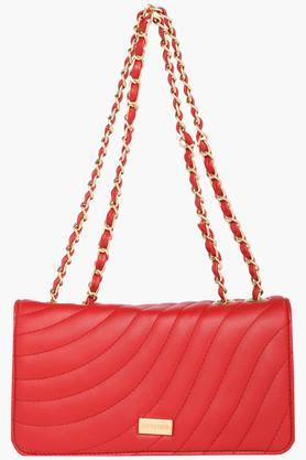 SATYA PAUL Womens Snap Closure Sling Bag