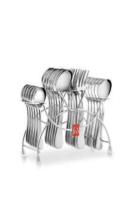 FNSStainless Steel Cutlery Set Of 24
