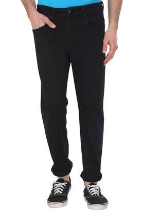 Mens Straight fit 5 Pocket Coated Jeans