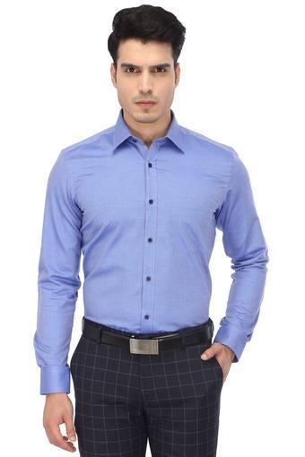 RAYMOND -  Dark BlueShirts - Main